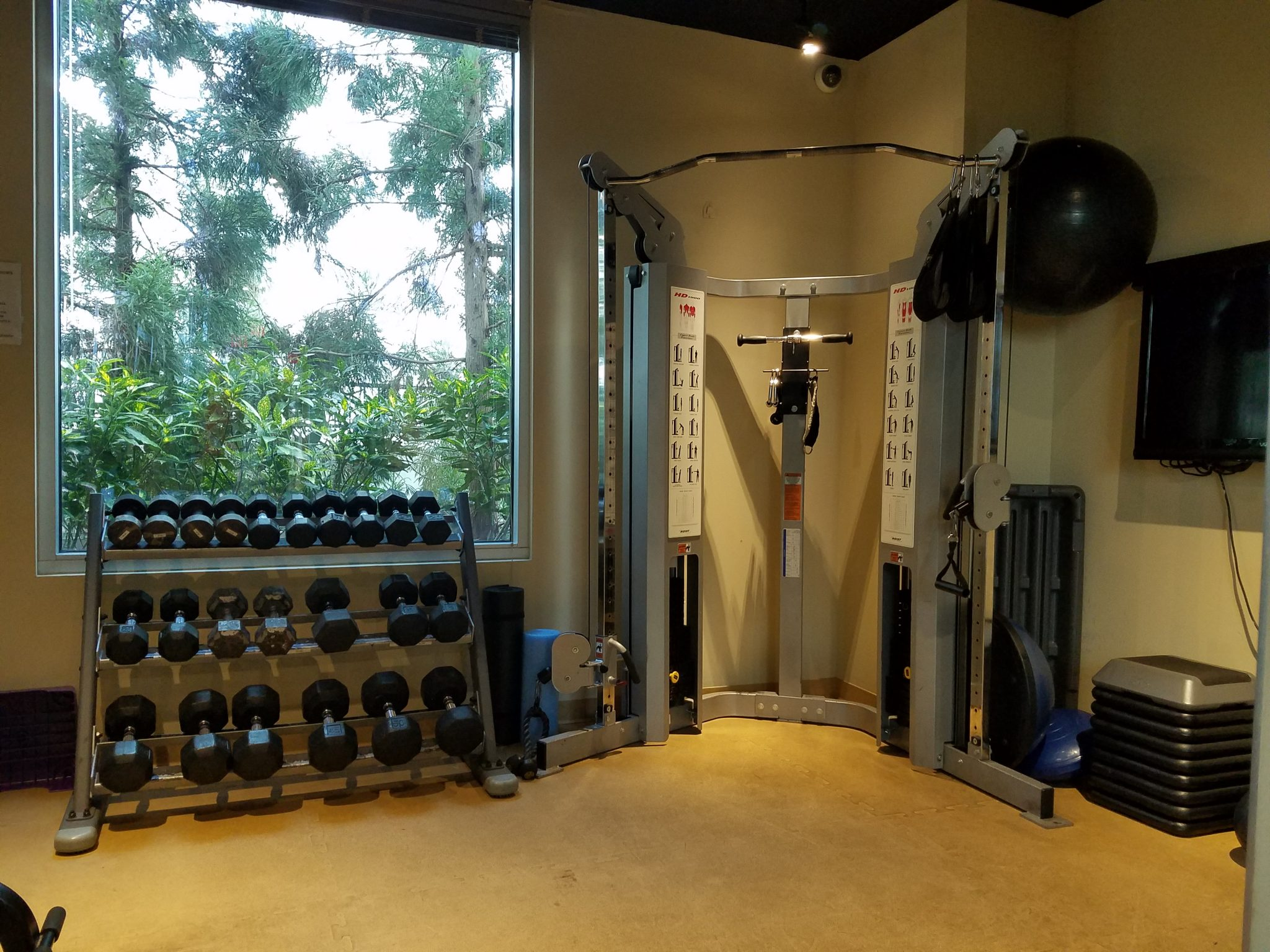 The Realm in Buckhead Fitness Room