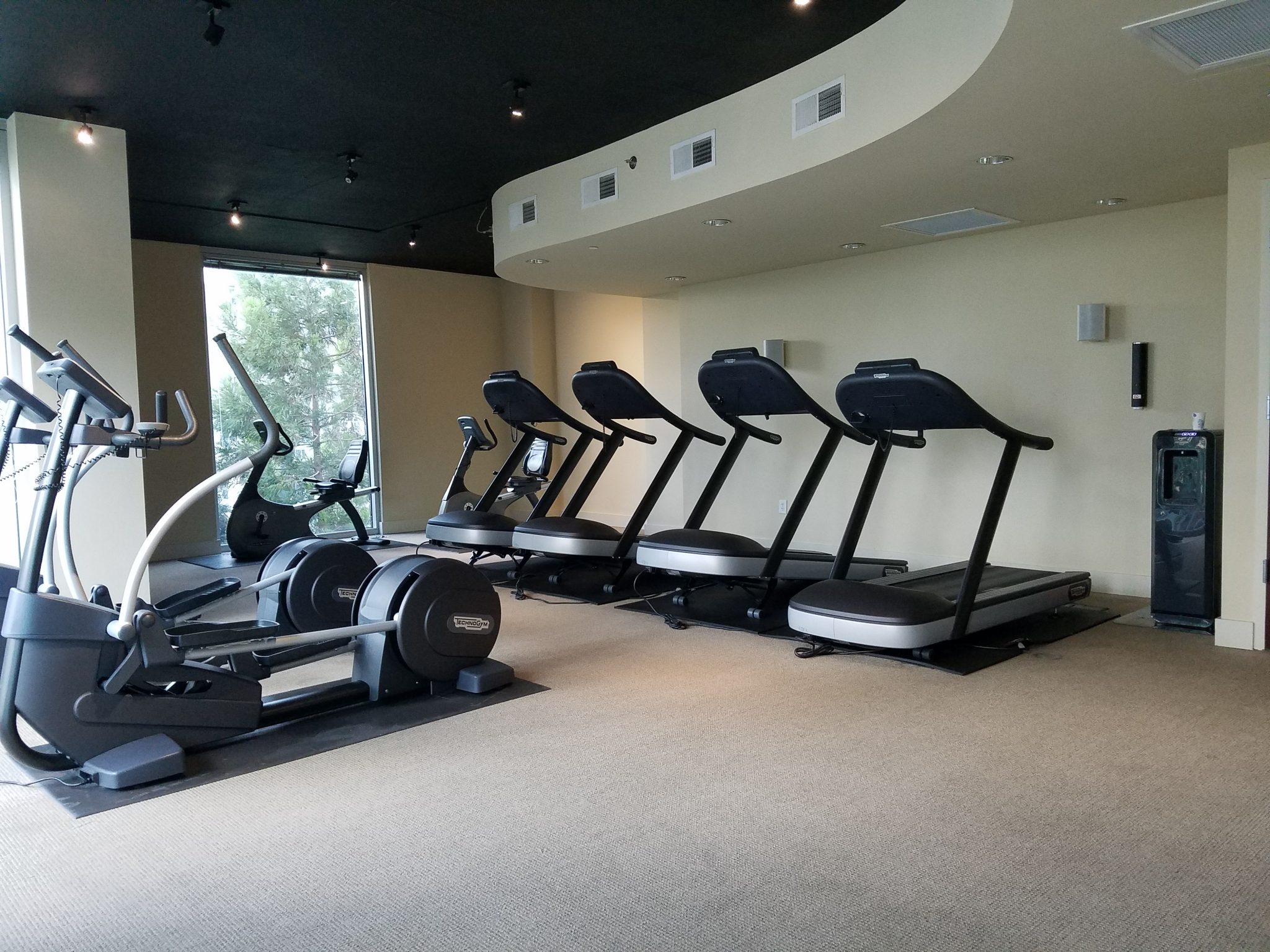 The Realm in Buckhead Gym and Fitness Room treadmills and elliptical machines
