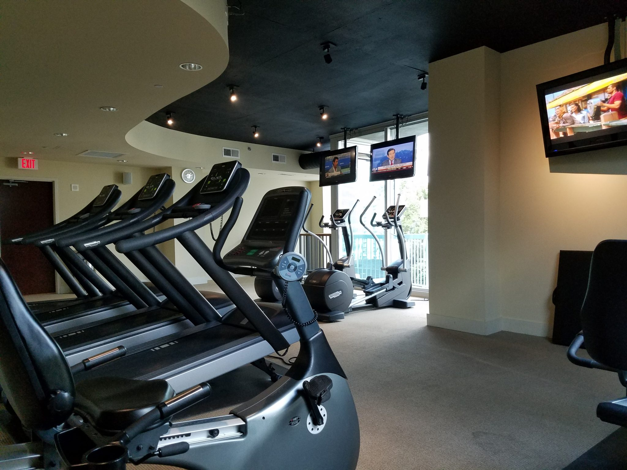 The Realm in Buckhead Gym and Fitness Room