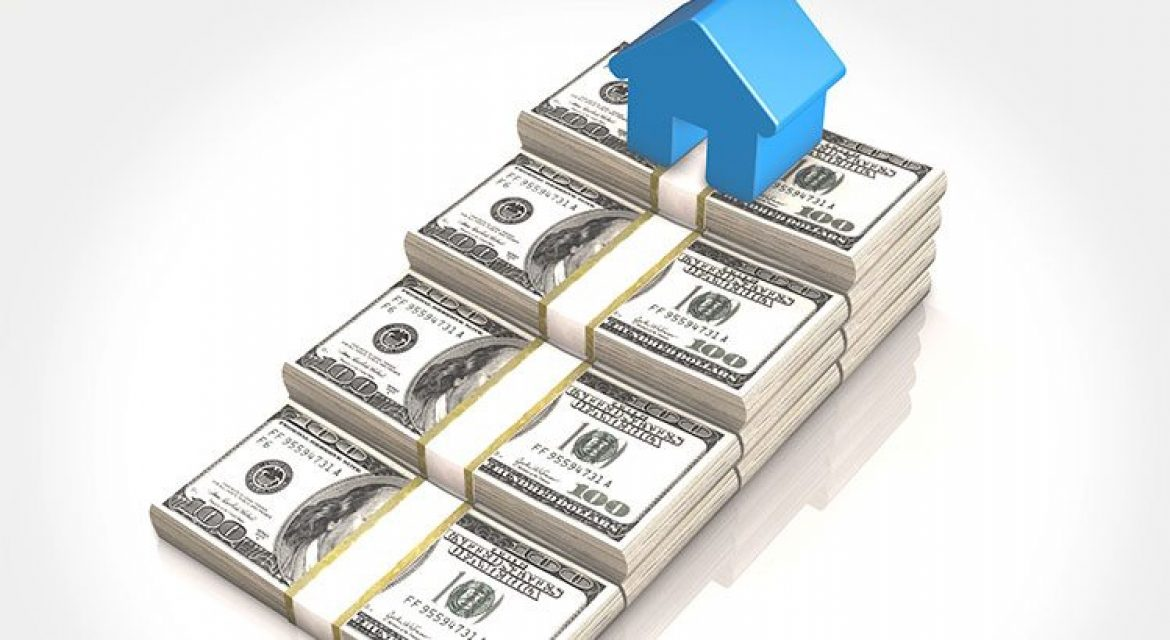 increasing stacks of money showing the investment in your home
